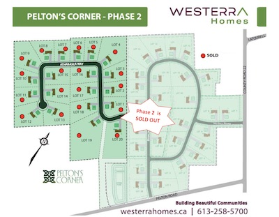 1 pelton 39 s corner westerra homes Home site plan